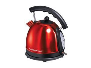 Hamilton Beach 40894 Red Candy Apple Electric Kettle