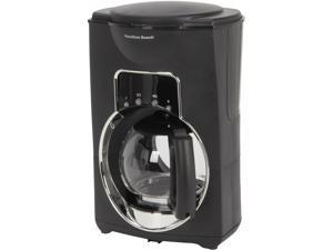 Hamilton Beach 44755 Black Illusion 12 Cup Coffeemaker