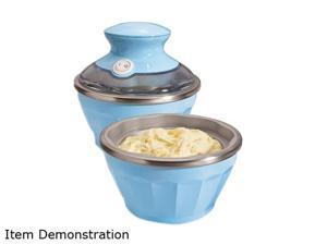 Hamilton Beach 68550E Half Pint Soft-Serve Ice Cream Maker Blueberry
