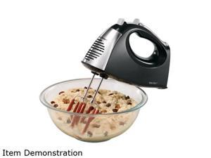 Hamilton Beach 62640 SoftScrape 6 Speed Hand Mixer with Case Black