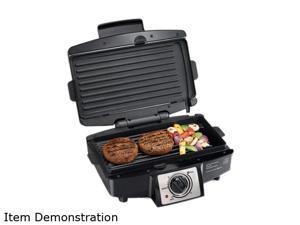 Hamilton Beach Easy-Clean Indoor Grill 25332 Black