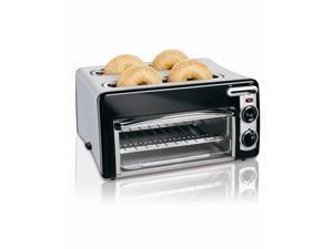 Hamilton Beach 24708 Silver Toastation 4 Slice Toaster & Oven