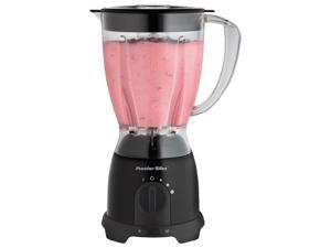 Hamilton Beach 58131Y Black 40 - 50 (oz.) Jar Size Space-Saving Blender 8 speeds