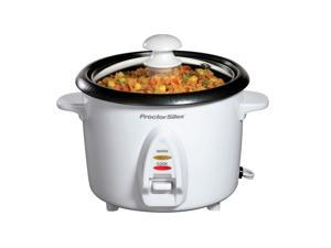 Hamilton Beach 37534Y White 8 Cup Rice Cooker