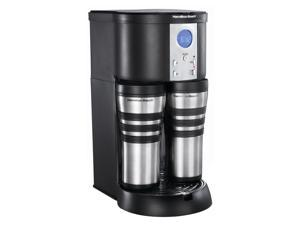 Hamilton Beach 45237R Black Stay Or Go Digital Thermal Coffeemaker