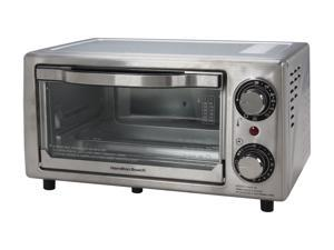 Hamilton Beach 31138 Stainless Steel Stainless Steel 4 Slice Toaster Oven