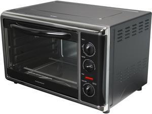 Hamilton Beach 31100 Black Countertop Oven with Convection & Rotisserie