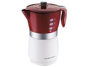 Hamilton Beach 43700 Red 5 Cup Personal Coffee Brewer
