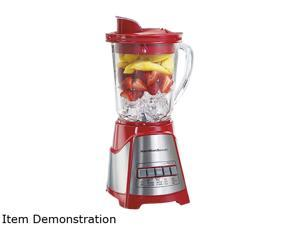 Hamilton Beach 58147 Red 40 oz. Jar Size Ensemble Multi-Function Blender