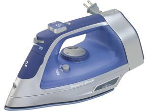 Hamilton Beach 19803 Durathon Retractable Cord Iron Blue