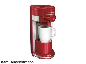 Hamilton Beach 49962 Red FlexBrew Single Serving Coffeemaker