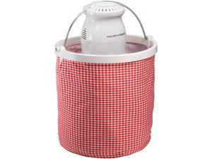 Hamilton Beach  68990  4 Quart Ice Cream Maker with colapsible bucket