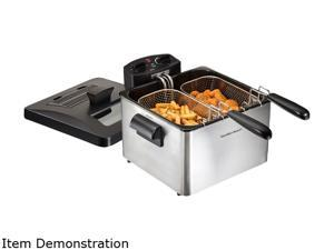 Hamilton Beach 35036 2 Basket Professional Style Deep Fryer