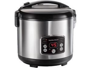 Hamilton Beach 37549 14 Cup Digital Simplicity Rice Cooker and Steamer