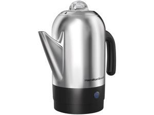 Hamilton Beach 40621R Stainless Steel 8 Cups Percolator