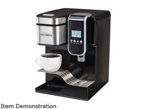 Hamilton Beach 49988 FlexBrew Programmable Single-Serve Coffee Maker with Hot Water Dispenser