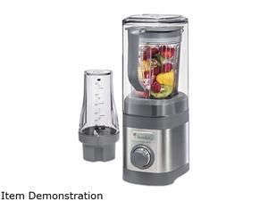 Hamilton Beach 58916 Gray 32 oz. Jar Size Jamba 32 oz Quiet Sheild Blender with 20 oz Blending Cup