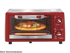 Hamilton Beach 4 Slice Capacity Toaster Oven, 31133