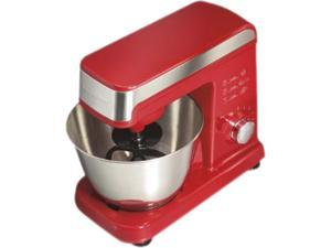 Hamilton Beach 63324 6 Speed Stand Mixer, Red Red