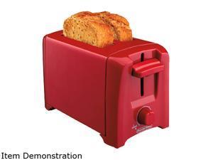 Hamilton Beach 22620 Red Proctor Silex 2 Slice Toaster, Red