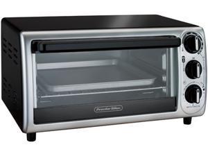 Hamilton Beach 31122 White Proctor Silex 4 Slice Toaster Oven Broiler