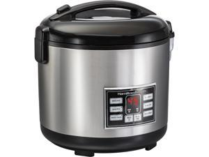 Hamilton Beach 37543 4-20 Cup Rice and Hot Cereal Cooker