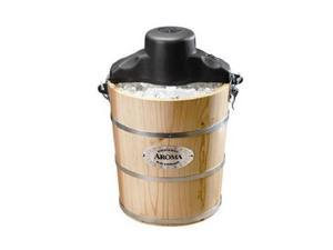 Aroma AIC-206EM 6-Qt. Traditional Ice Cream maker