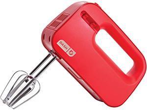 Storebound SHM01DSRD 3 Speed Hand Mixer, 150 Watts, Beater Storage in Handle Red