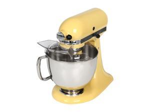 KitchenAid KSM150PSMY Artisan Tilt-Head 5-Quart Stand Mixer Yellow