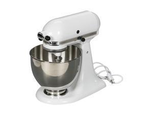 KitchenAid KSM150PSWH Artisan 325-Watt 5-Quart Stand Mixer (White)