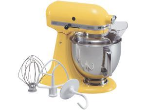 KitchenAid KSM150PSBF Artisan Series 5-Quart Tilt-Head Stand Mixer Buttercup