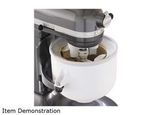 KitchenAid KICAOWH Ice Cream Maker Attachment