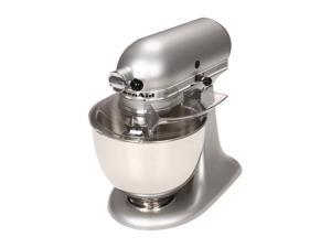 KitchenAid KSM150PSSM Artisan Series 5-Quart Tilt-Head Stand Mixer Silver Metallic