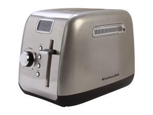 KitchenAid KMT222CU Contour Silver 2 Slice Toaster