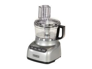 KitchenAid KFP0711CU Contour Silver 7-Cup Food Processor 3 Speeds