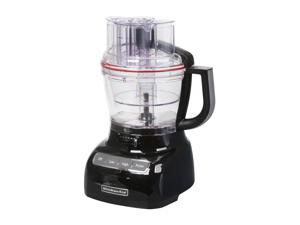 KitchenAid KFP1333OB Onyx Black 13-Cup Food Processor with ExactSlice System