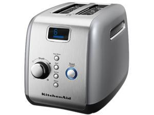 KitchenAid KMT223CU Contour Silver 2 Slice, One-touch motorized lift control Toaster