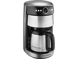KitchenAid KCM1203CU Contour Silver 12 Cup Thermal Carafe Coffee Maker