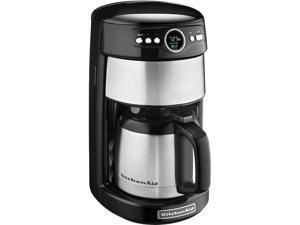 KitchenAid KCM1203OB Onyx Black 12 Cup Thermal Carafe Coffee Maker