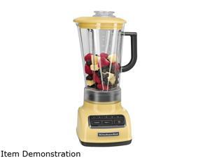 KitchenAid KSB1575MY Majestic Yellow 60 oz. Jar Size Diamond Blender 5 speeds