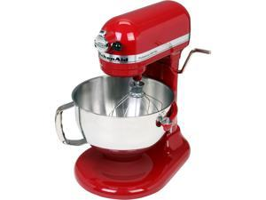 KitchenAid KV25MEXER Professional 550 Plus 5.5 Qt. Stand Mixer, Bowl Lift Empire Red