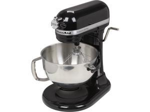 KitchenAid KV25MEXOB Professional 550 Plus 5.5 Qt. Stand Mixer, Bowl Lift Onyx Black