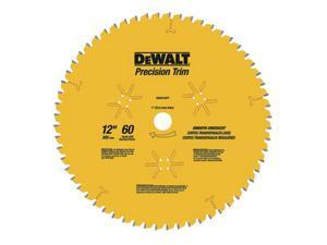 "DEWALT DW3232PT 12"" 80T Fine Crosscutting Saw Blade"