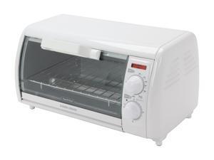 Black & Decker TRO420 White Toast-R-Oven Classic Toaster Oven