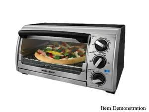 Black & Decker TRO480BS Stainless Steel Countertop Oven
