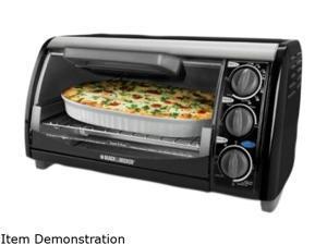 Black & Decker TRO490B 4 Slice Toaster Oven