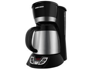 Black & Decker CM1609 Black 8-Cup Thermal Programmable Coffee Maker