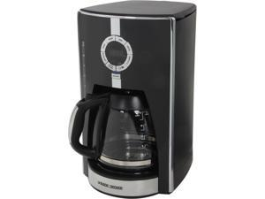 Black & Decker CM1650B Black 12-Cup Programmable Coffee Maker