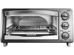 Black & Decker TO1313SWD White 4-Slice Toaster Oven
