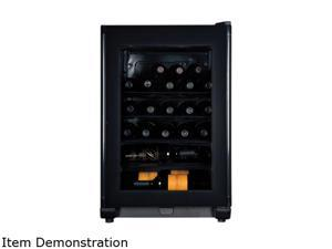 Haier HVFE024BBB 24-Bottle Compressor Wine Cellar with Electronic Controls
